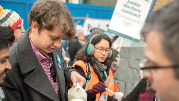 "Barts Students Join Junior Doctors' Strike: ""These may soon be our contracts too."""