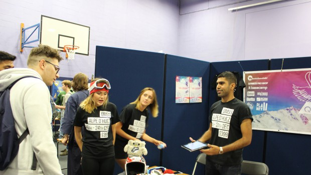 A Snippet of Sport from Freshers' Fair