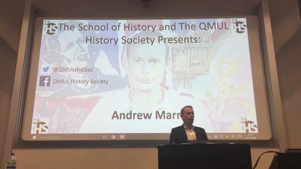 Andrew Marr Comes to Queen Mary