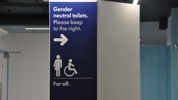 New Gender-Neutral Bathrooms Open at Mile End Library