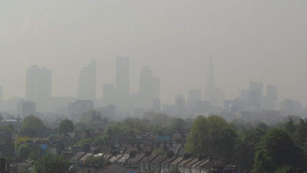 London smog hits deadly levels