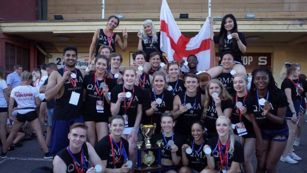 QM Angels Cheerleading Squad soar in European Championships