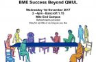 School of Business and Management hosts 'BME Success Beyond QMUL'