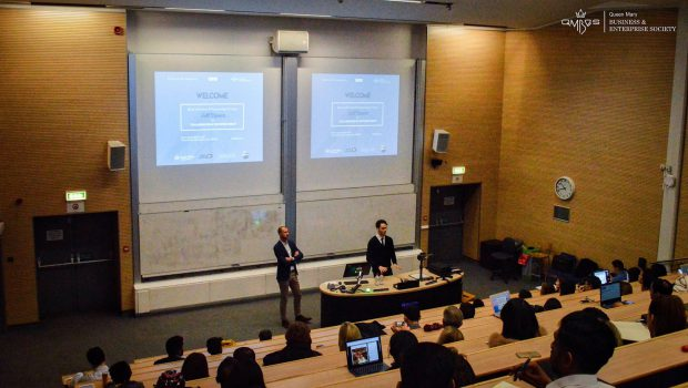 Business and Enterprise Society hosts first of series of talks on FinTech