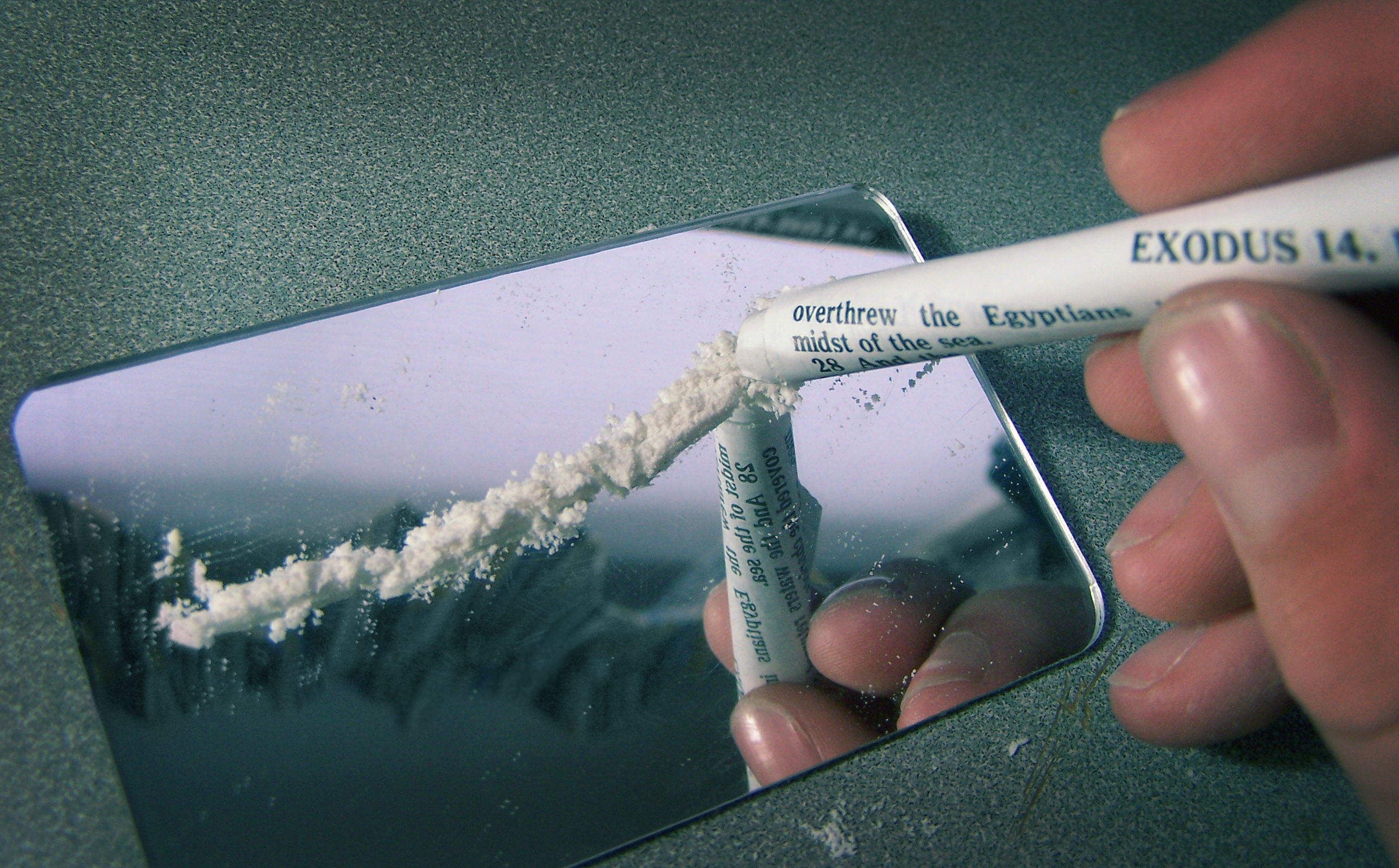 COCAINE FOUND IN LONDON COCAINE