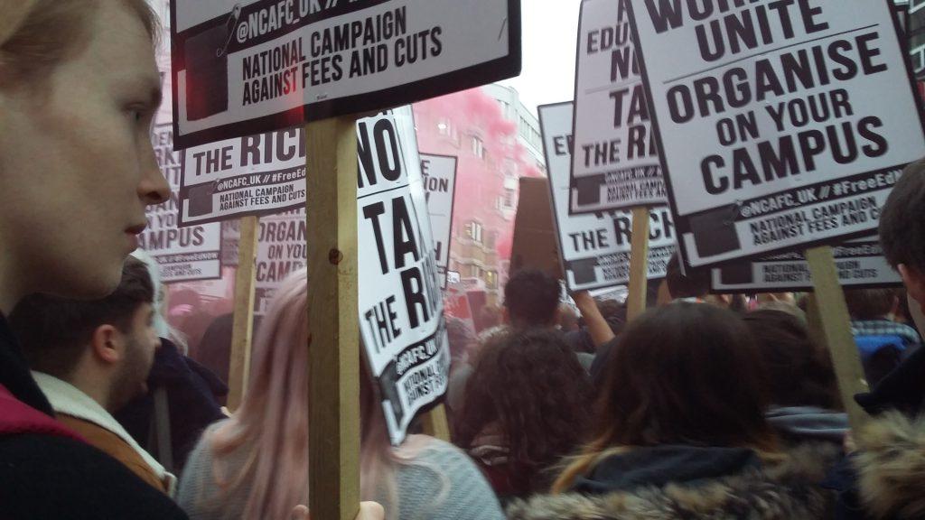 NCAFC free education demo