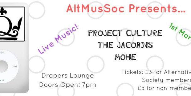 AltMusSoc Presents…