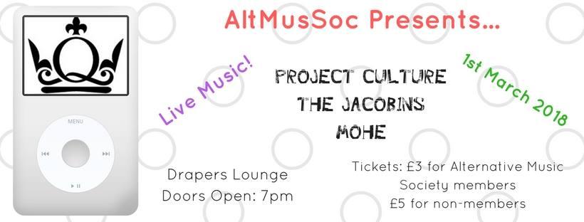 AltMusSoc Presents...