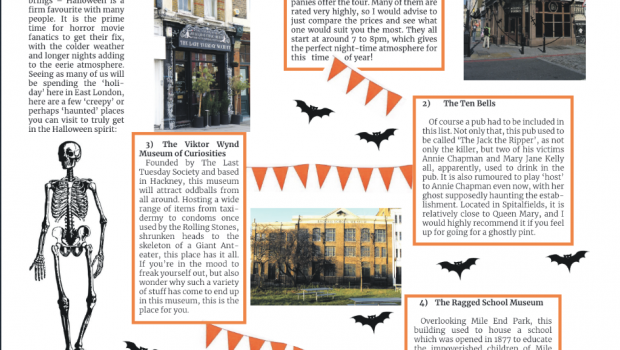 Halloween Hotspots: London's East End