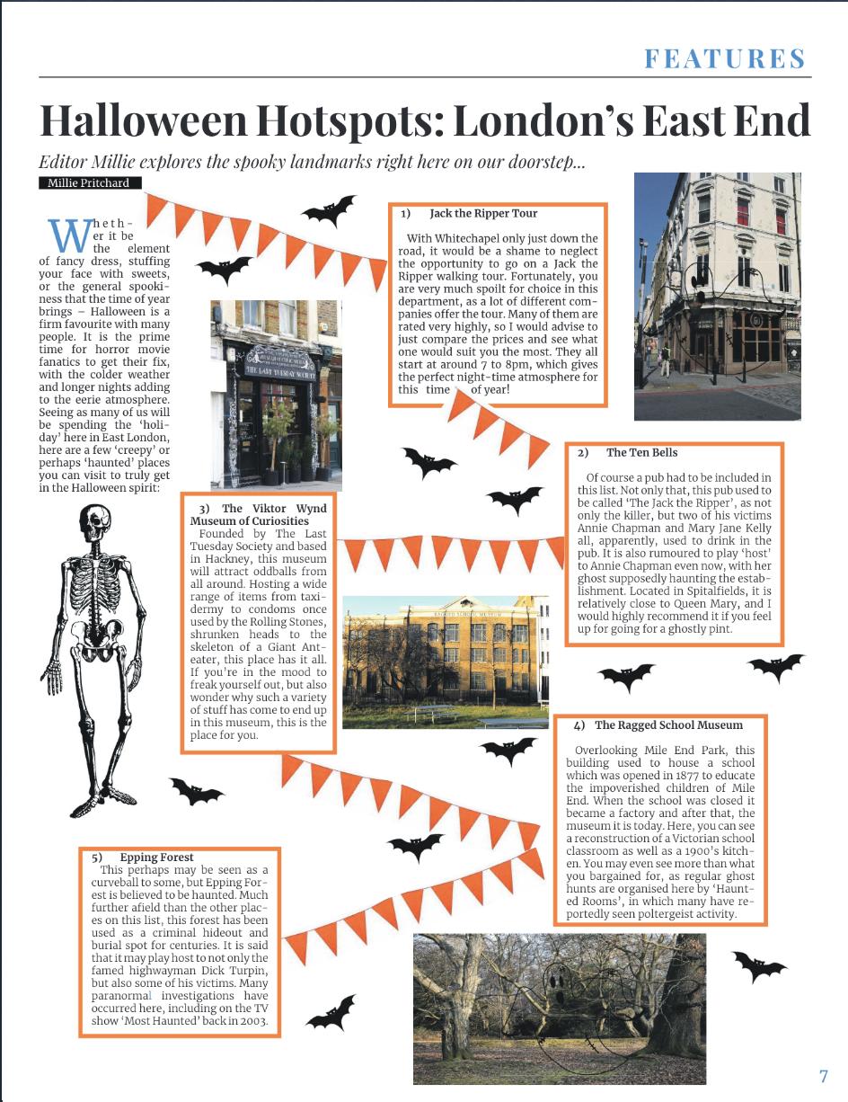Halloween Hotspots: London's East End
