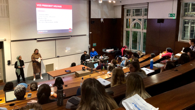 Highlights: QMSU Whitechapel Candidate Debate 2019