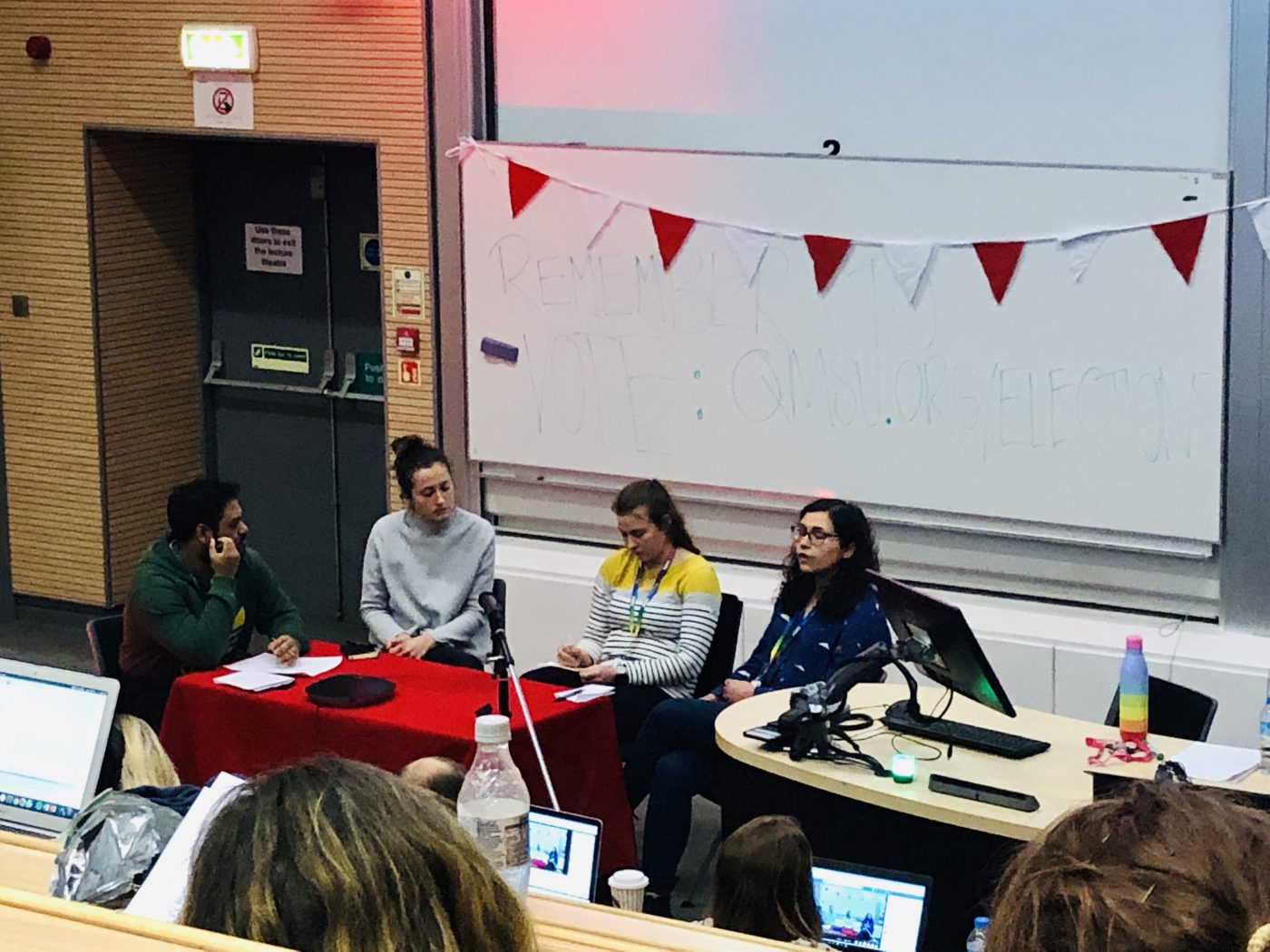 Highlights: QMSU Mile End Question Time 2019