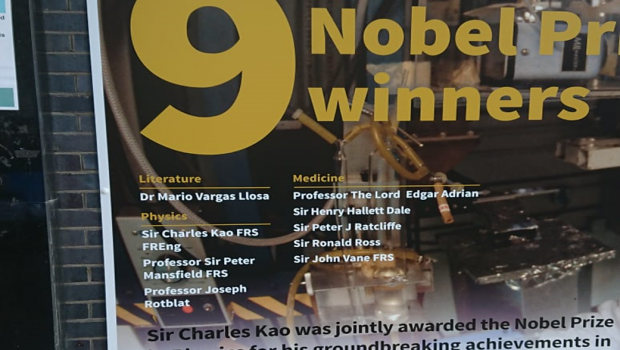 The Lost Laureates: Could QMUL add to it's list of winners?